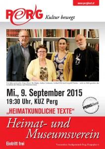 09.09.2015 PERGliest Heimat-und Museumsverein A4