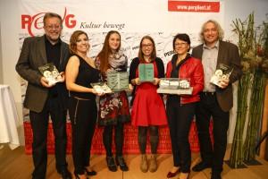 Preisträger mit Jury