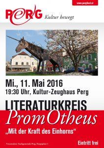 A1 Plakat Literaturkreis Promotheus 11.05.2016 WEB