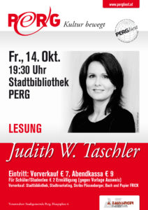 14.10.2016 PERGliest Judith W Taschler A1 Plakat WEB