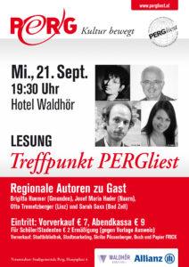 21.09.2016 Treffpunkt PERGliest A1 Plakat WEB